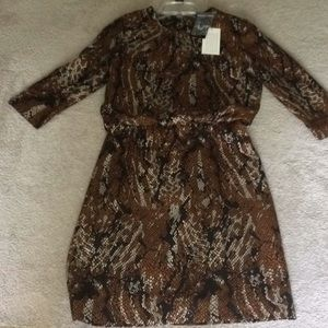 NWT Etcetera Dress named Python.